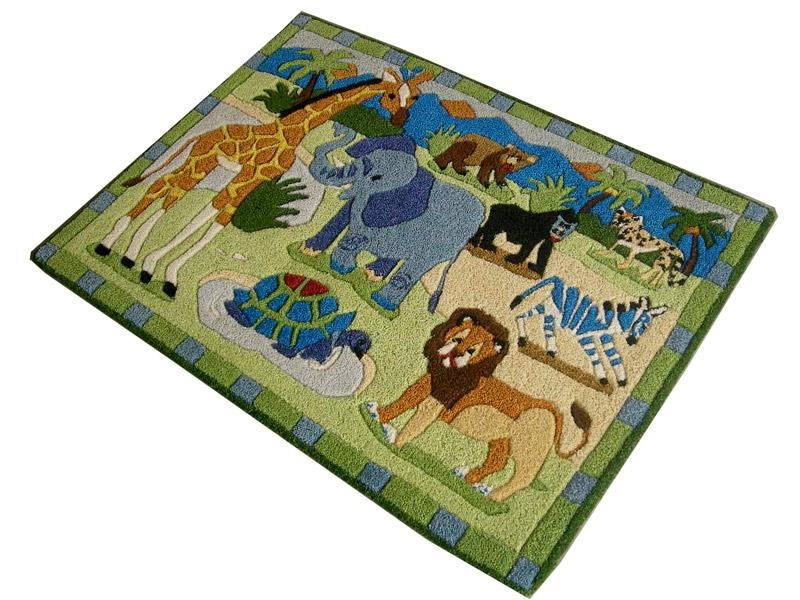 Tapis enfant jungle interesting tapis dangle x m les animaux de la jungle with tapis enfant - Tapis animaux de la jungle ...