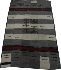 Kilim ancien tribal BERBERE 134X235 cm
