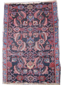 Tapis ancien Persan Malayer 62X90 cm